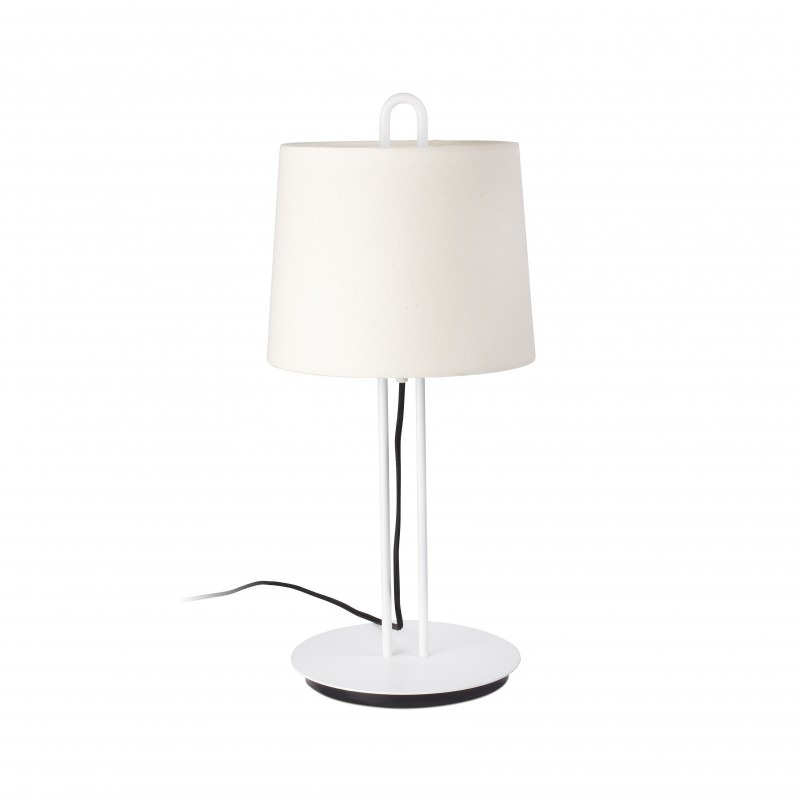 MONTREAL Structure lampe de table blanche