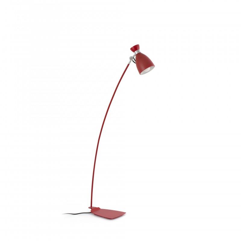 RETRO Lampadaire rouge