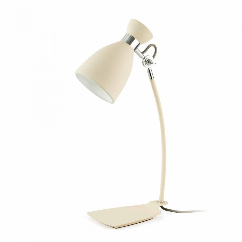 RETRO Lampe de bureau beige