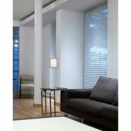 SABA Lampe de table nickel mat h84 mm