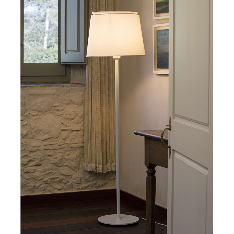 SAVOY Structure lampadaire blanc
