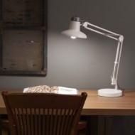 SNAP Lampe de bureau de table blanche