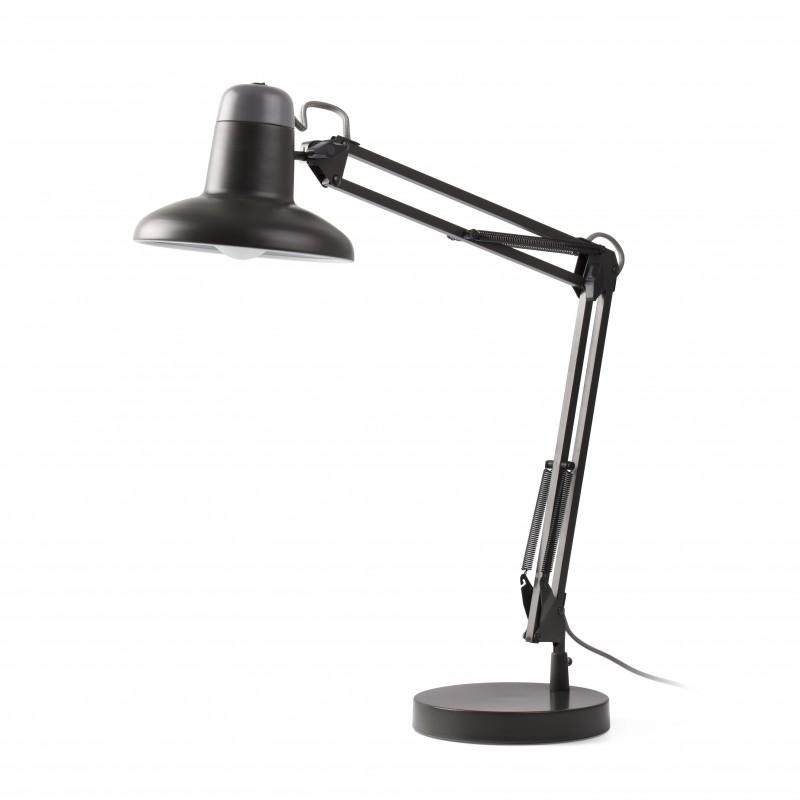 SNAP Lampe de bureau de table gris foncé