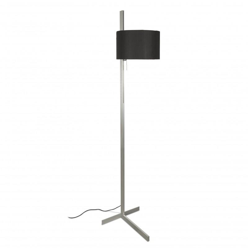 STAND UP Lampadaire aluminium et noir