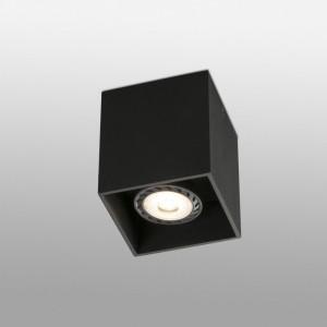 TECTO-1 Plafonnier noire GU10