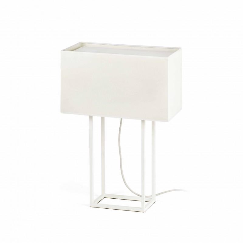 VESPER Lampe de bureau blanche