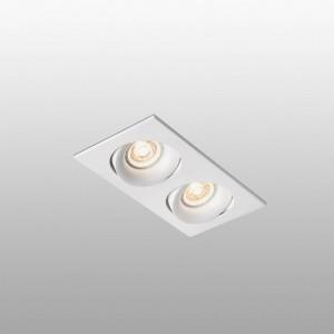 ARGÓN-2 Lampe encastrable blanc
