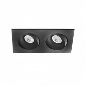 ARGÓN-2 Lampe encastrable orientable noire