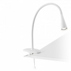 LENA Lampe avec pince blanche