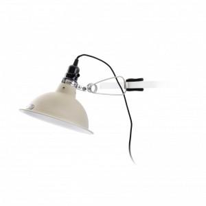 PEPPER Lampe avec pince beige