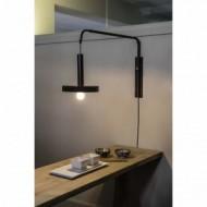 WHIZZ Lampe portable or satiné et noire