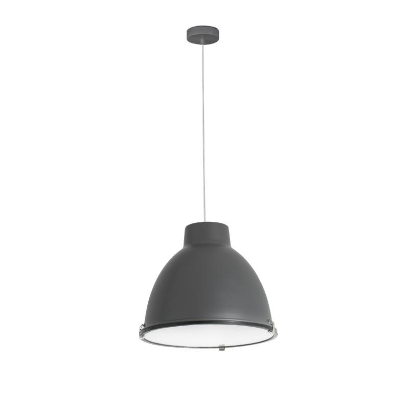 CHARLOTTE Lampe suspension gris foncé