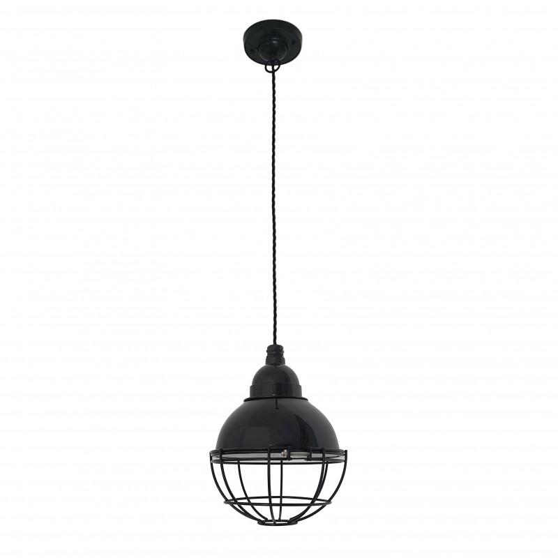 CLAIRE Lampe suspension noire