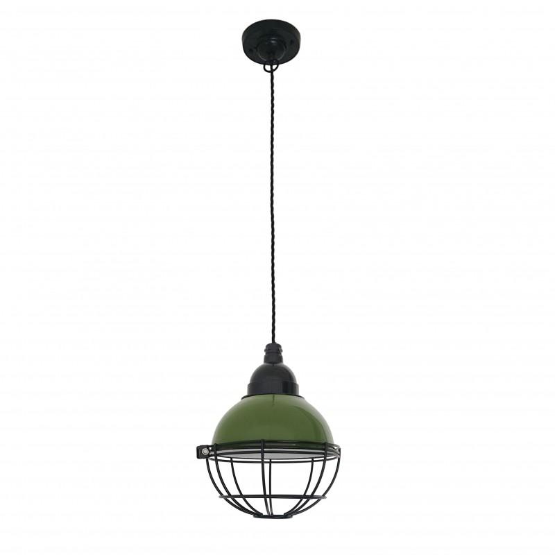 CLAIRE Lampe suspension verte