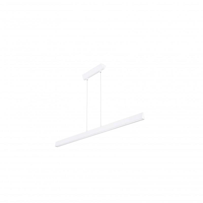 CONIK LED Lampe suspension blanche