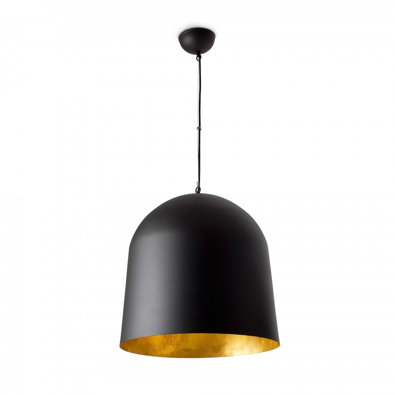 CRATER Lampe suspension noir