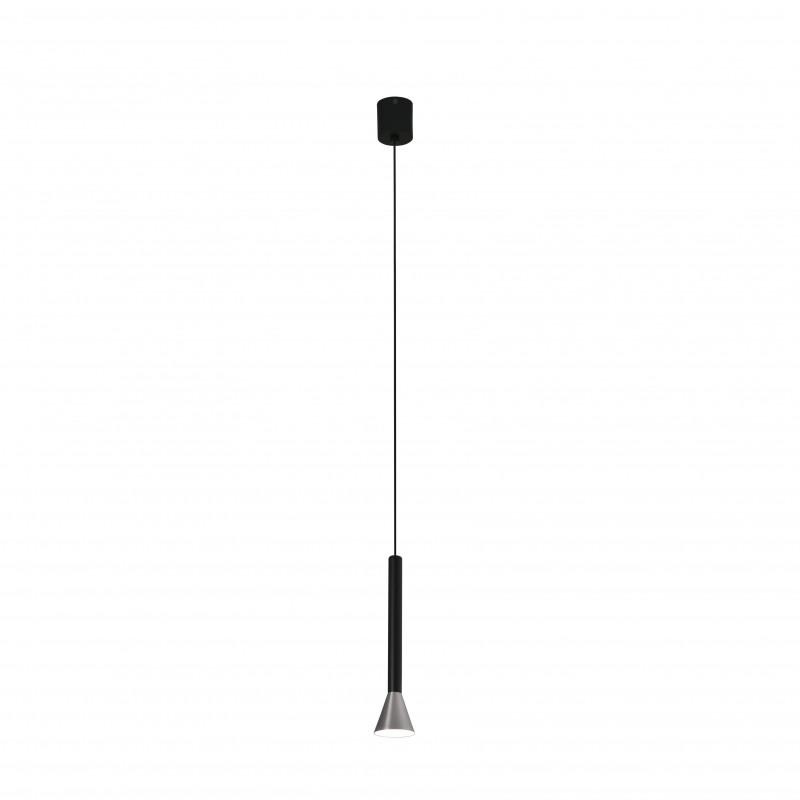 DANKA LED Lampe suspension nickel mat