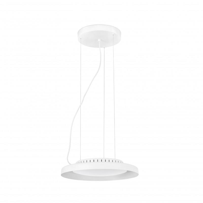DOLME LED Lampe suspension blanche