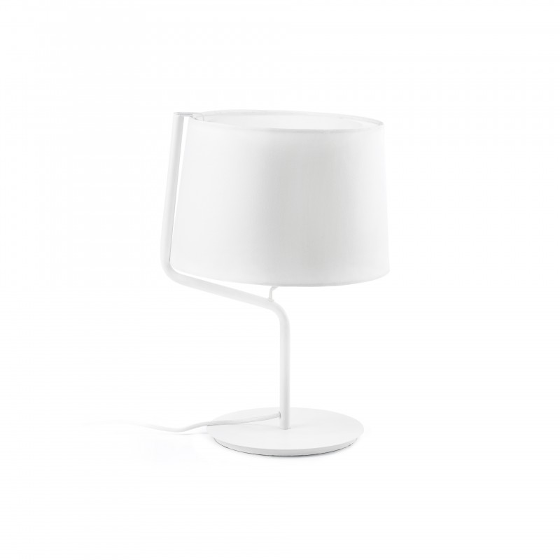 BERNI Lampe de table blanche