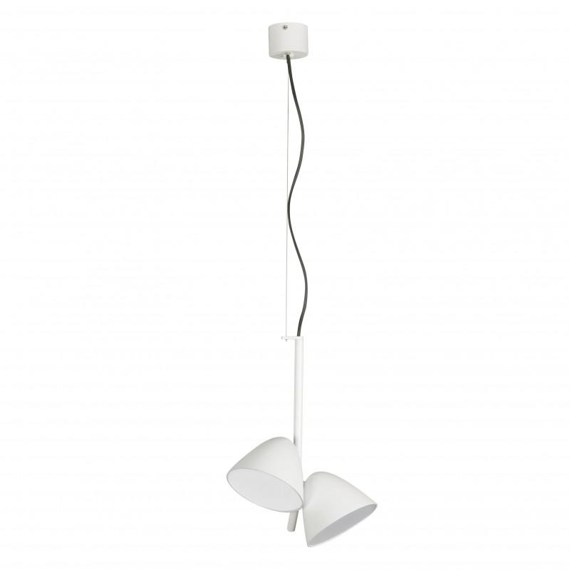 FLASH LED Lampe suspension blanche 2L