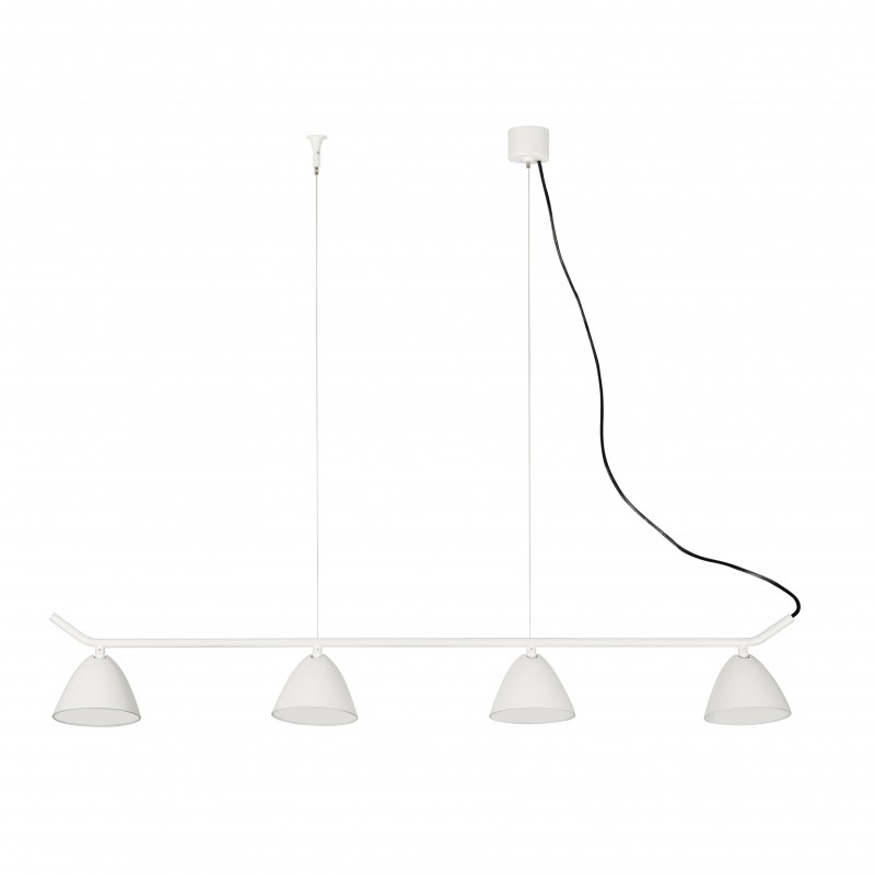 FLASH LED Lampe suspension blanche 4L
