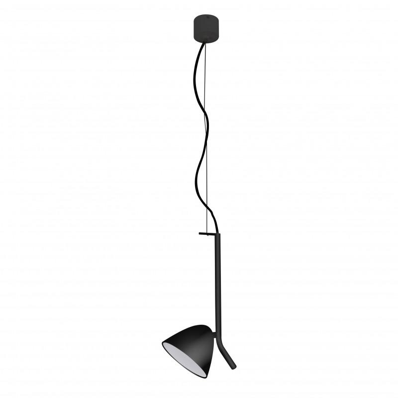 FLASH LED Lampe suspension noire 1L