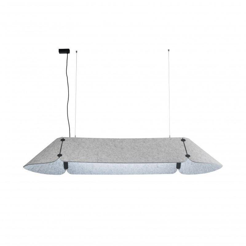 FONOVIA Lampe suspension gris