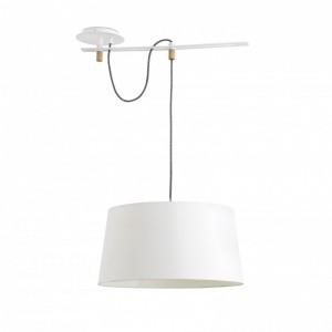 FUSTA Lampe suspension blanche