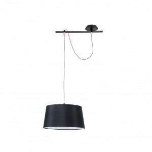 FUSTA Lampe suspension noire
