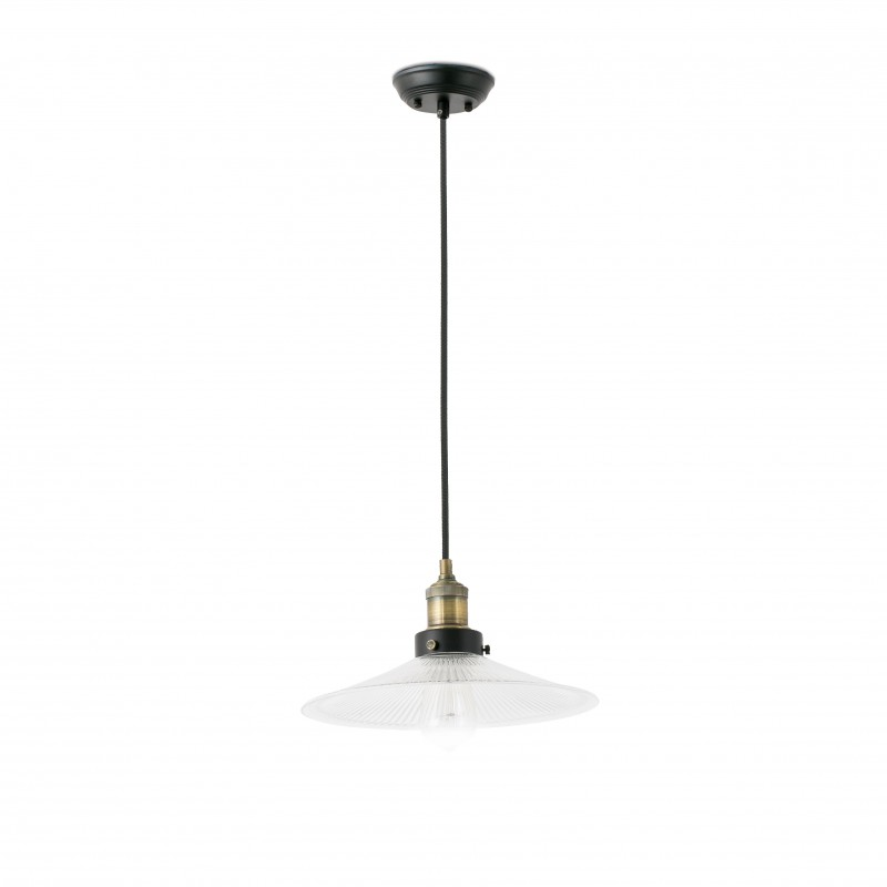 HALITA Lampe suspension transparente