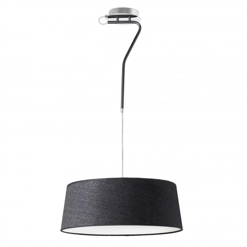 HOTEL Lampe suspension noir 3L