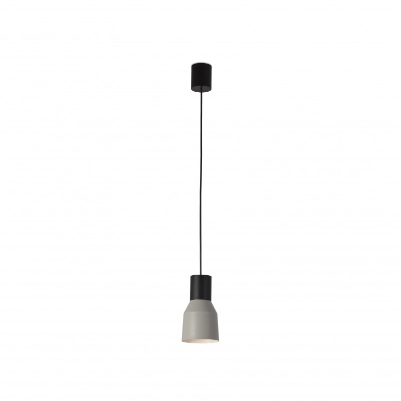 KOMBO Lampe suspension gris Ø120