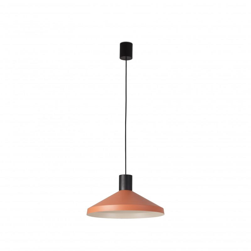 KOMBO Terracotta lampe suspension beige Ø400