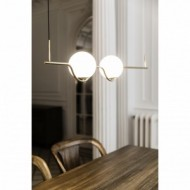 LE VITA Lampe suspension or