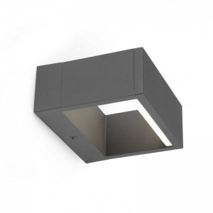 ALP LED Lampe applique gris foncé