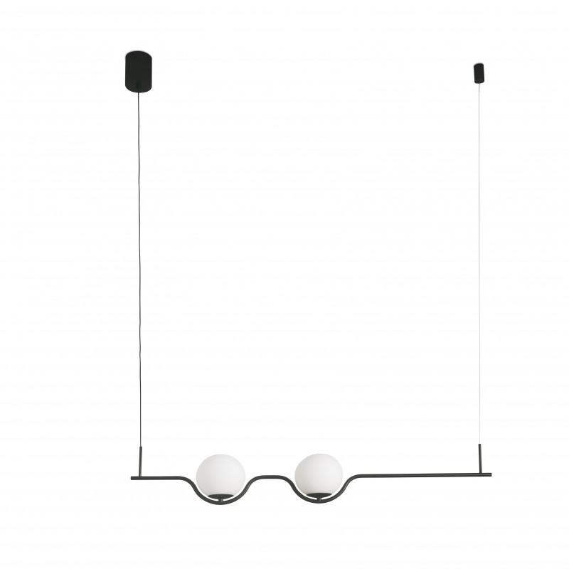 LE VITA LED Lampe suspension noir