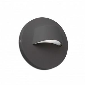 BROW LED Lampe applique gris