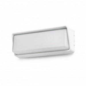 HALF LED Lampe applique blanche
