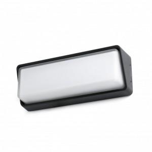 HALF LED Lampe applique noire