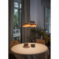 LOOP LED Lampe suspension noire