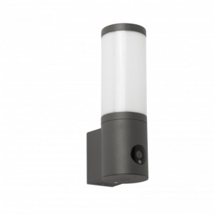 ORWELL LED Lampe applique gris foncé avec caméra