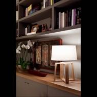 BLISS Lampe de table blanche
