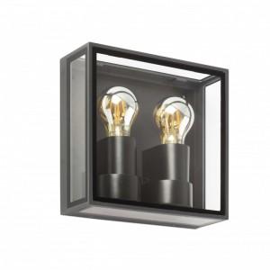 POMO LED Lampe applique gris foncé