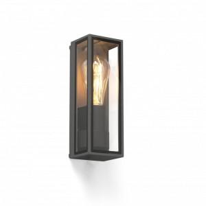 TAMASHI Lampe applique gris foncé