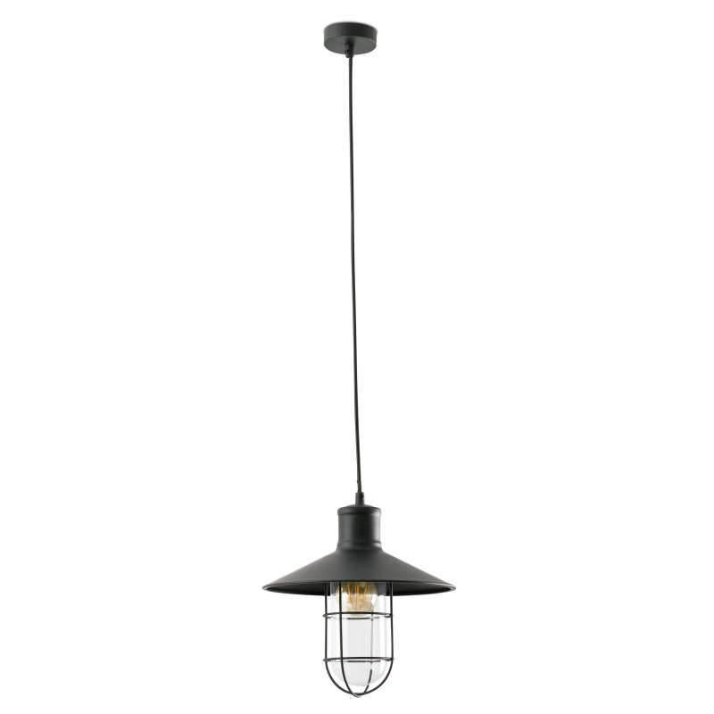 MARINA Lampe suspension noire