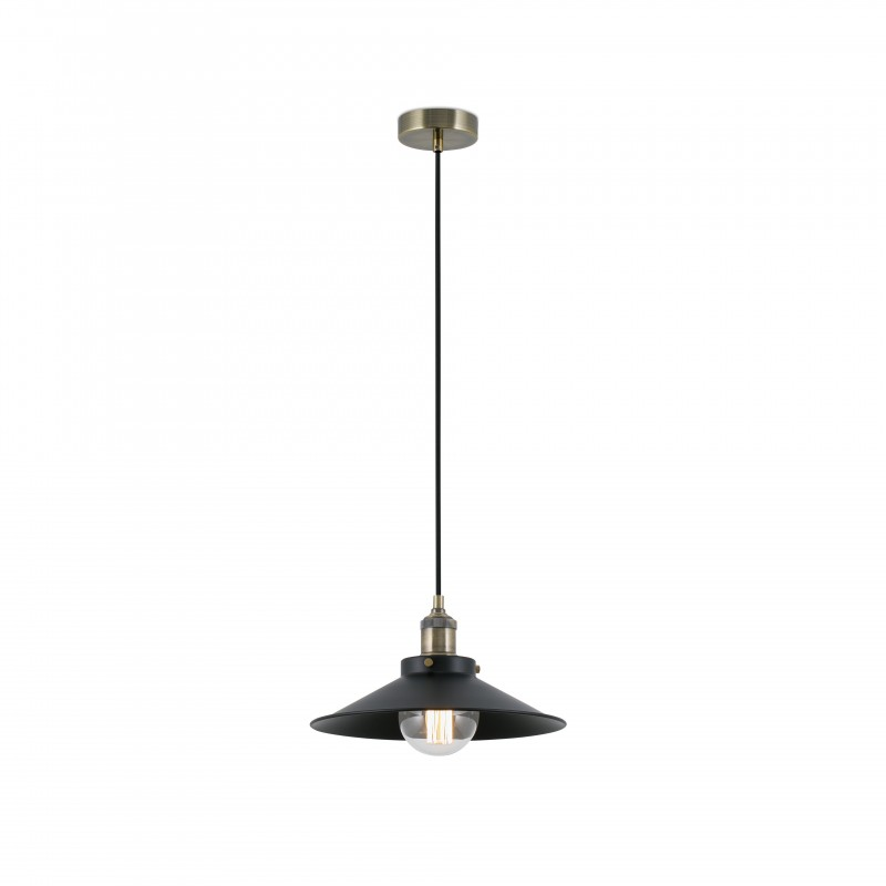 MARLIN Lampe suspension noir