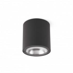 GOZ LED Plafonnier gris foncé