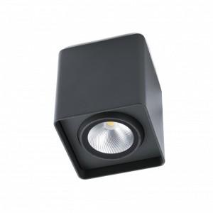 TAMI LED Plafonnier gris foncé
