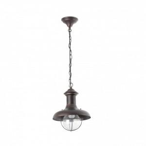 ESTORIL-P Lampe suspension rouille