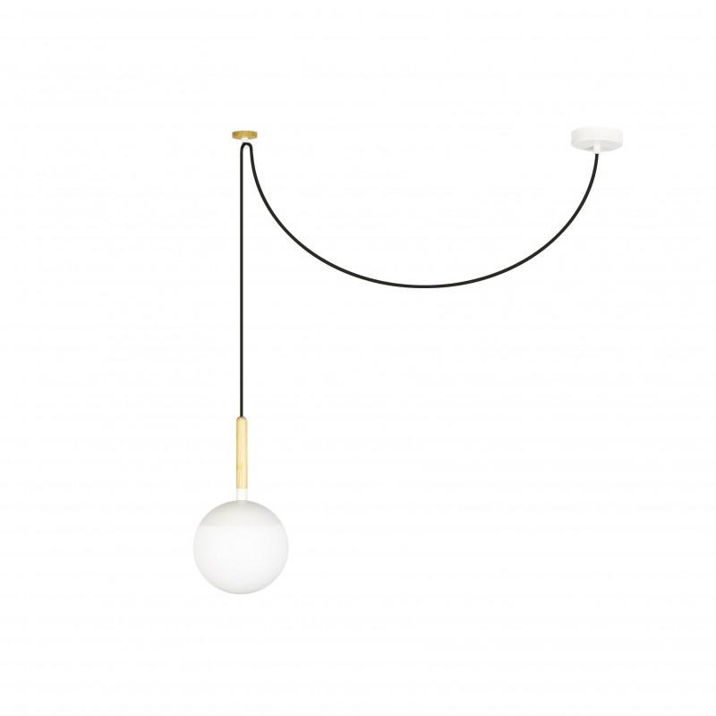 MINE Lampe suspension blanche PC